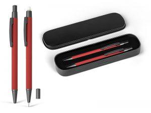 Metalna tehnička i hemijska olovka u poklon setu