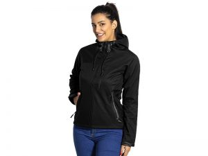 Ženska softšel jakna sa kapuljačom