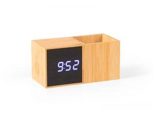 Digitalni stoni LCD sat sa držačem za olovke